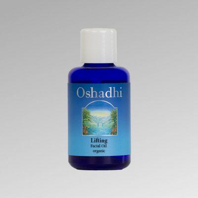 oshadhi-ránctalanító arcolaj Lifting Facial Oil organic Bio minősítésű ránctalanító arcolaj, amely feszesíti, regenerálja az arcbőrt. Rózsa Geránium, Balzsamos szuhar, tömjén, ho-fa