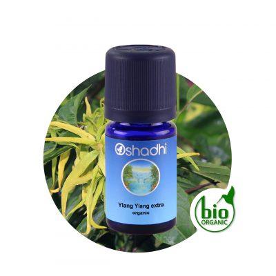 Ylang Ylang extra organic oshadhi illóolaj aromaterápia