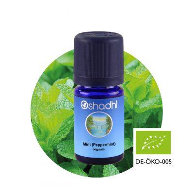 Oshasdhi aromaterápia borsmenta illóolaj