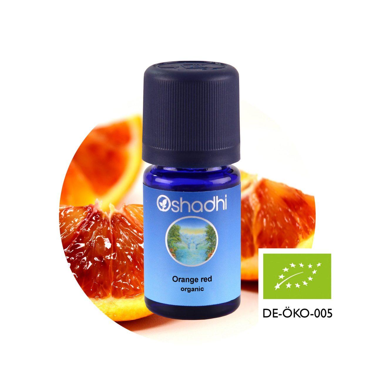 oshadhi vörös narancs illóolaj bio