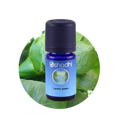 oshadhi illóolaj, aromaterápia, zöld citrom