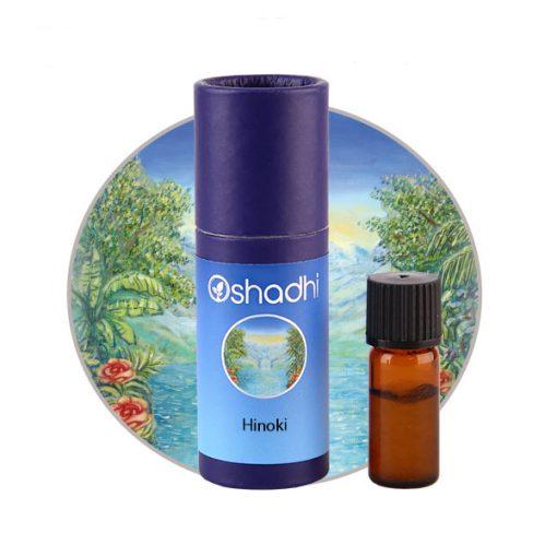 Oshadhi aromaterápia hinoki illóolaj